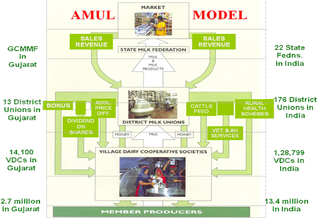 organizational culture in amul india From the competing values framework 4 organizational culture types emerged: clan culture, adhocracy culture, market culture and hierarchy culture.