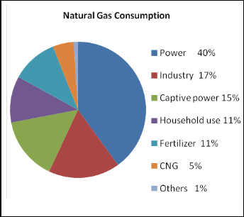 Natural Gas Consumption In Bangladesh