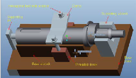 Computer Aided Fixture Design for Machining of Key-ways on
