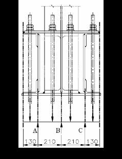Design Model of Built-up-Stiffened Column Base under Large