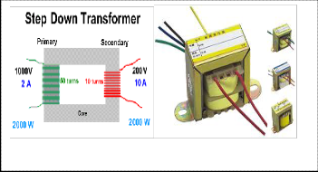 design of an ultrasonic distance meter note single phase step up or step down transformers sized less than 1 kva should not be reverse connected because the secondary