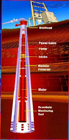designing of an electrical submersible pump electric submersible pump system 3 schematic diagram of an esp as described above, viscosity has a significant effect on cen trifugal pump performance the brake horsepower increases