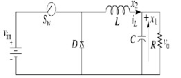 Implementation Of DC DC Buck Converter With Switched Mode Control Technique For Enhancement Of Efficiency Of Solar Cell on dc to voltage converter schematic