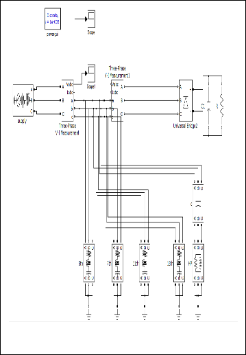passive filter for harmonic mitigation of power diode rectifier and scr rectifier fed loads