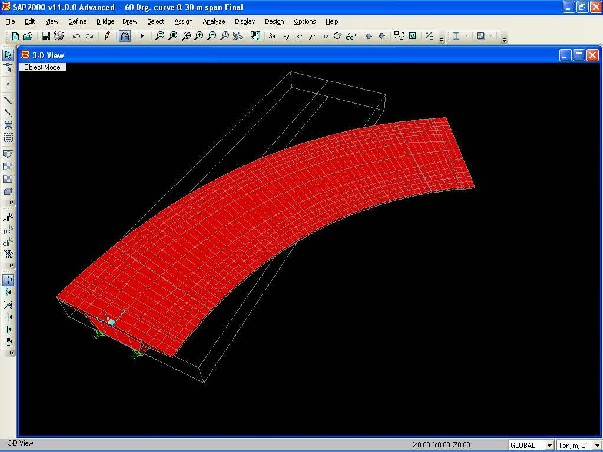 Performance of RCC Box type Superstructure in Curved bridges
