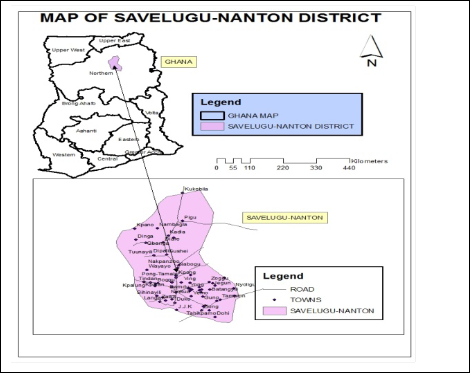 Towards Guinea worm Eradication in Savelugu-Nanton District